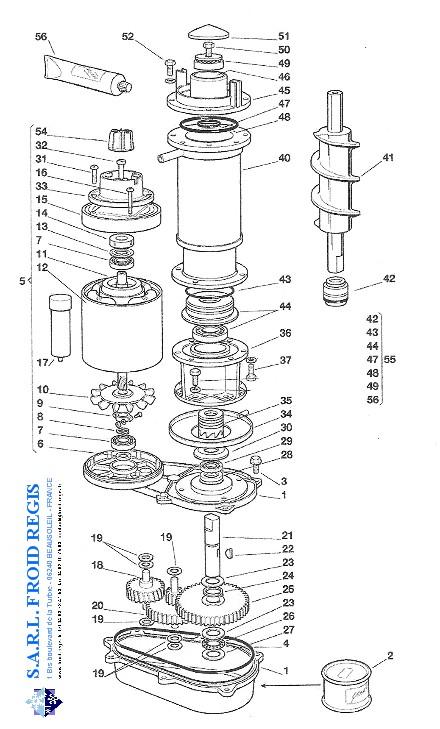 icematic machine parts