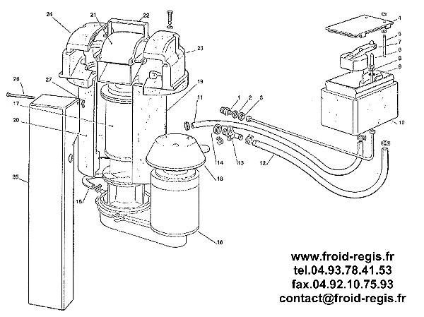 scotsman flake machine parts