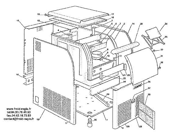 pieces scotsman acm106. Black Bedroom Furniture Sets. Home Design Ideas